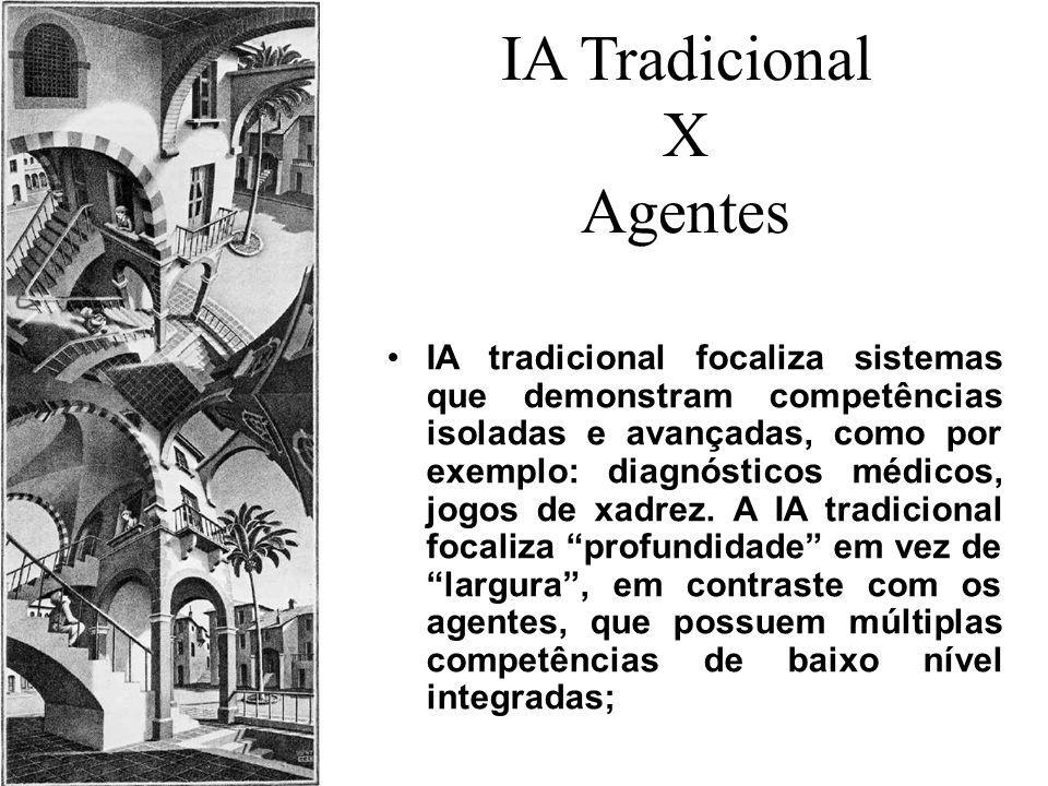 IA Tradicional X Agentes