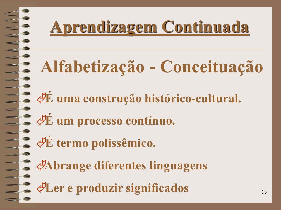 Alfabetização - Conceituação