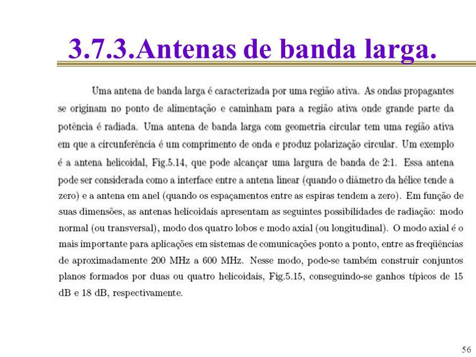 3.7.3.Antenas de banda larga. 56 56