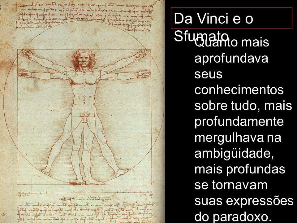 Da Vinci e o Sfumato