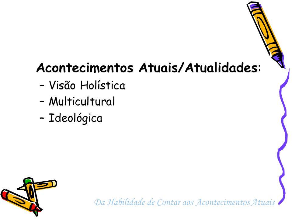 Acontecimentos Atuais/Atualidades:
