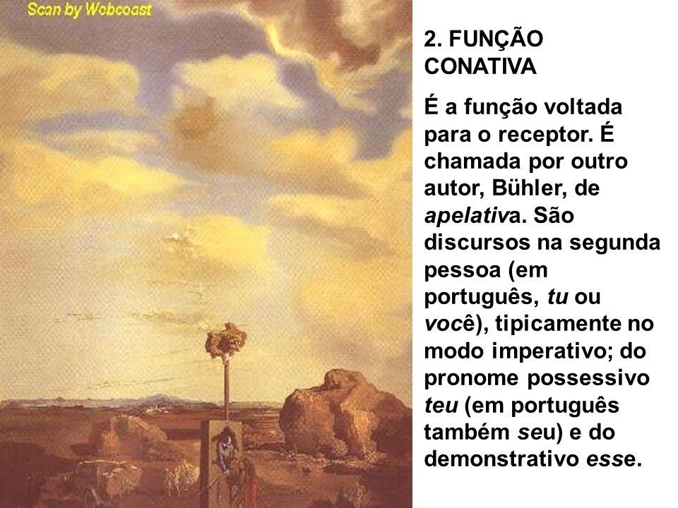 2. FUNÇÃO CONATIVA