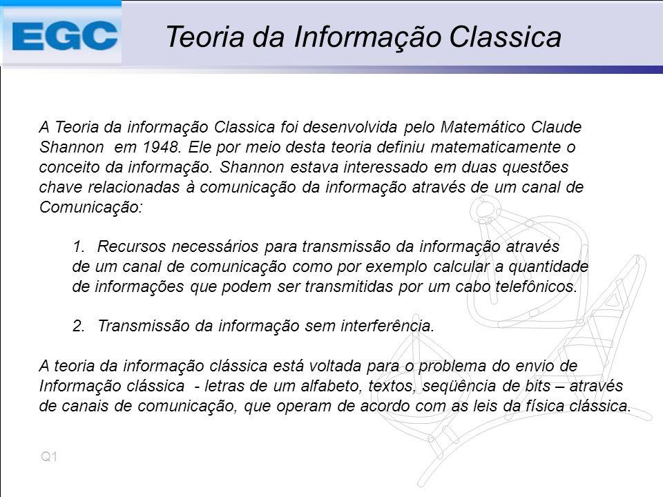 Teoria da Informação Classica