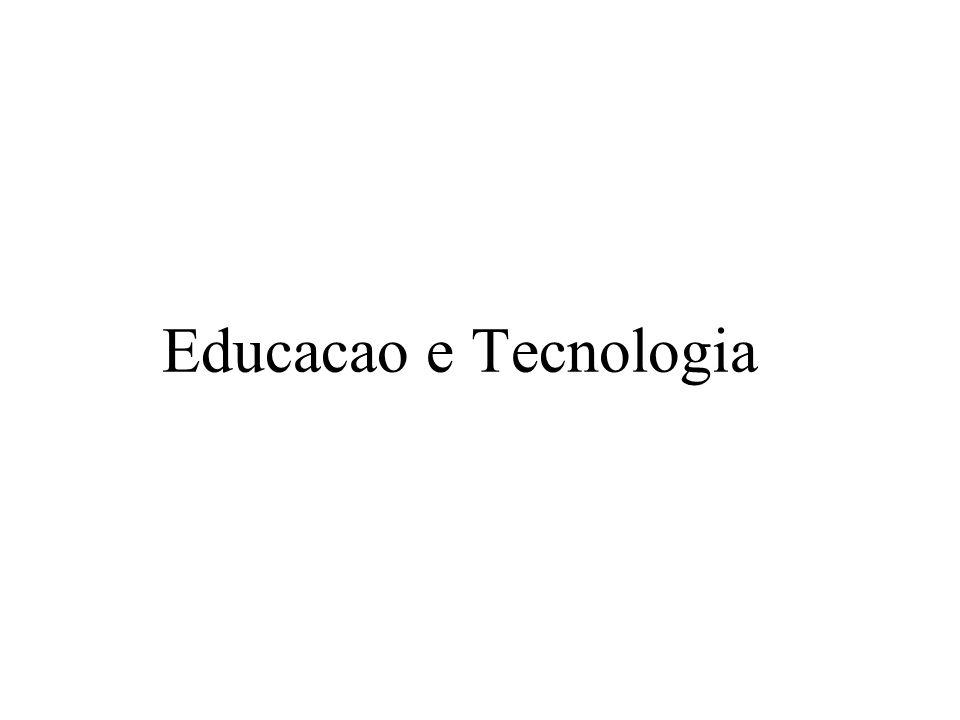 Educacao e Tecnologia