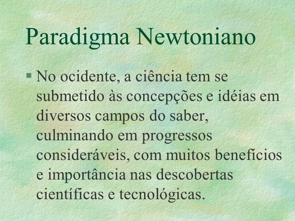 Paradigma Newtoniano