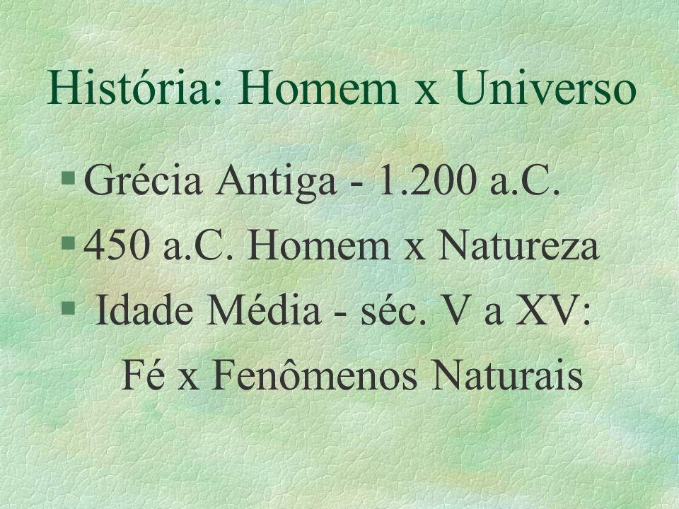 História: Homem x Universo