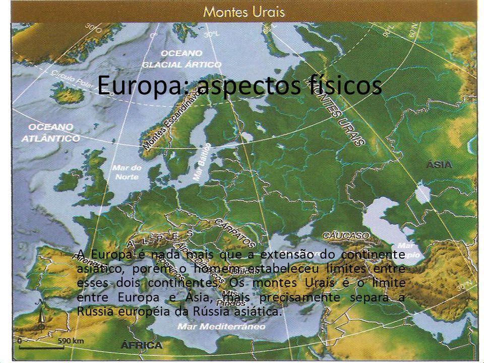 Europa: aspectos físicos