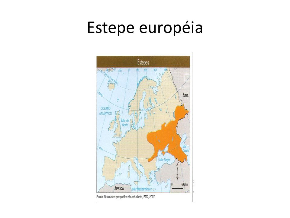 Estepe européia