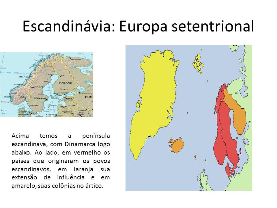 Escandinávia: Europa setentrional