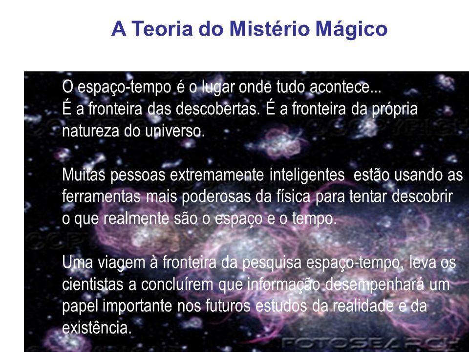 A Teoria do Mistério Mágico