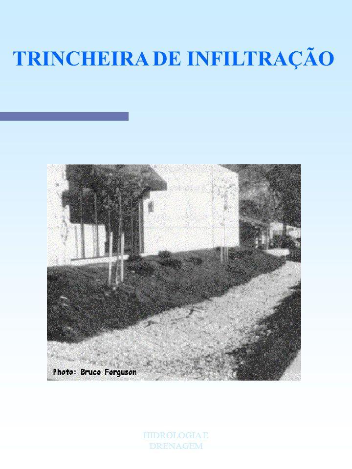 TRINCHEIRA DE INFILTRAÇÃO