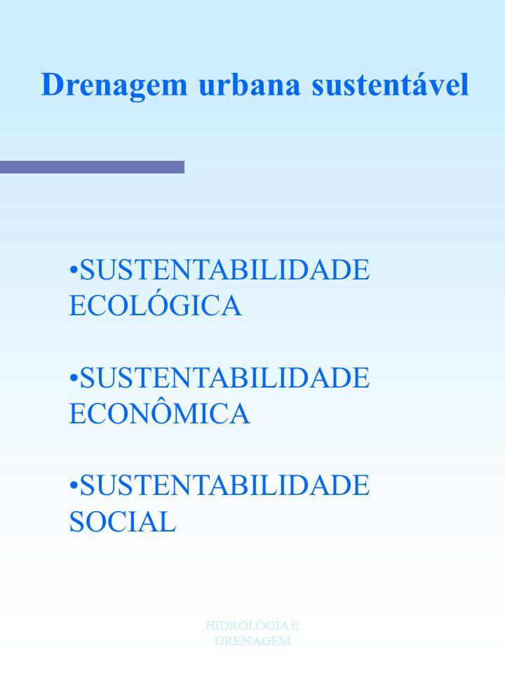 Drenagem urbana sustentável