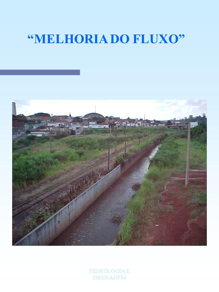 MELHORIA DO FLUXO HIDROLOGIA E DRENAGEM
