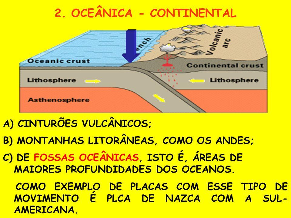 2. OCEÂNICA - CONTINENTAL
