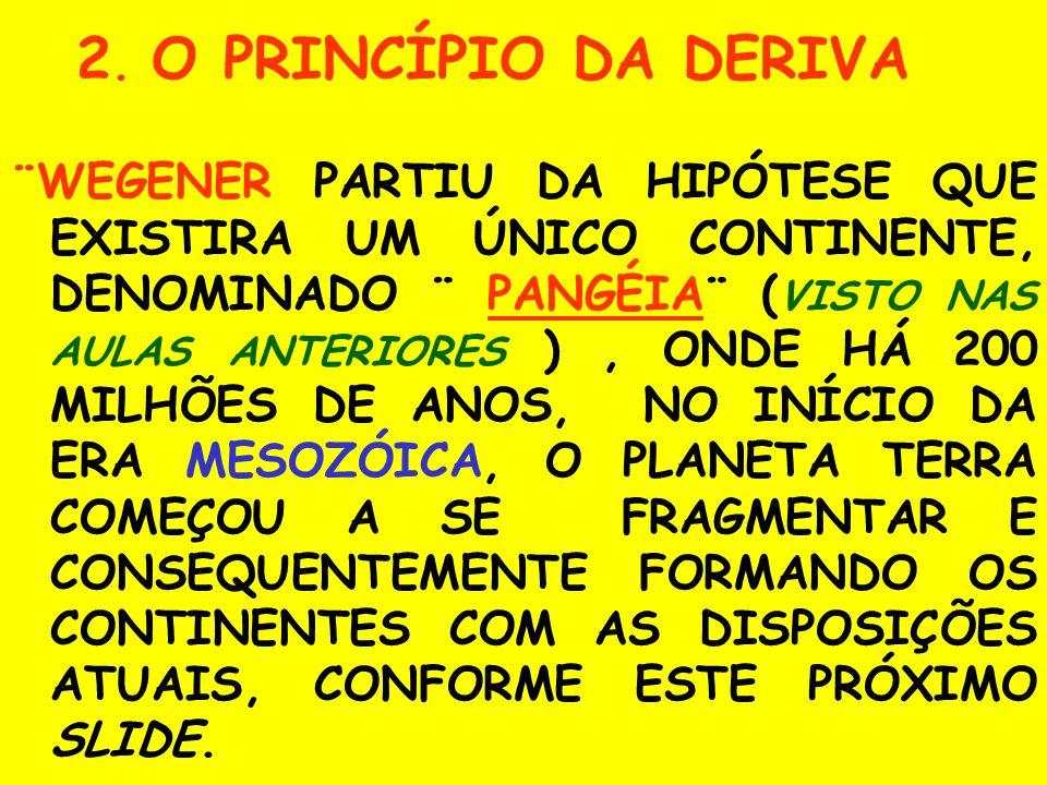 2. O PRINCÍPIO DA DERIVA