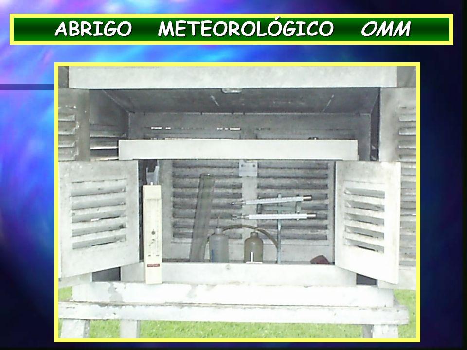 ABRIGO METEOROLÓGICO OMM