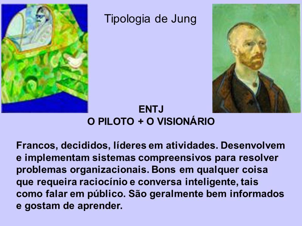 Tipologia de Jung ENTJ O PILOTO + O VISIONÁRIO