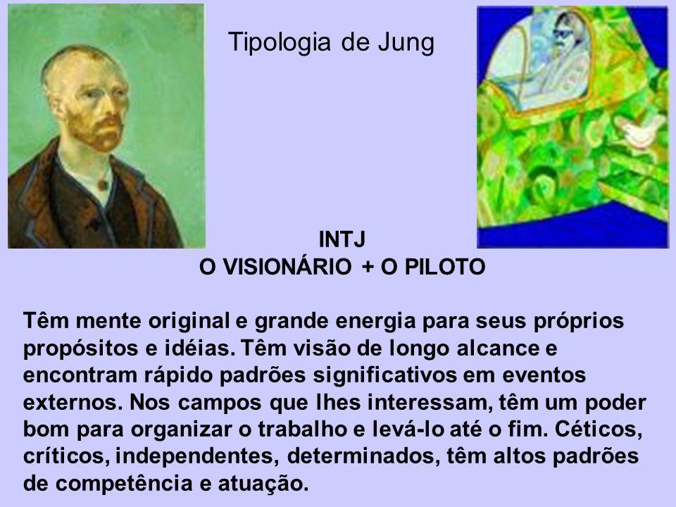 Tipologia de Jung INTJ O VISIONÁRIO + O PILOTO