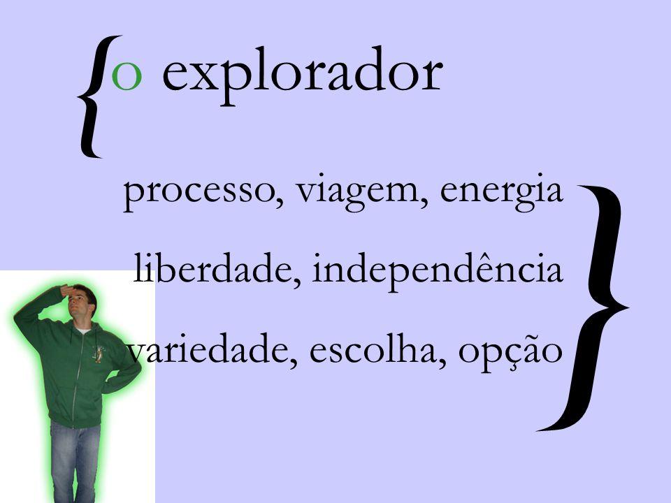 } { o explorador processo, viagem, energia liberdade, independência