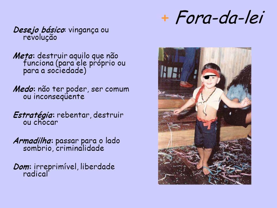 + Fora-da-lei Desejo básico: vingança ou revolução