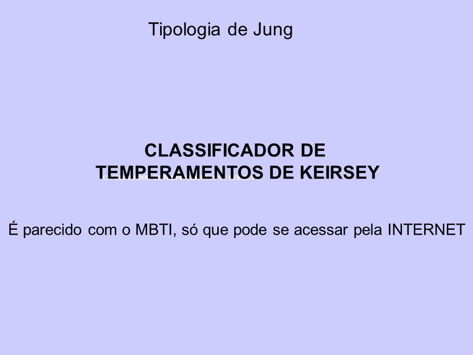 TEMPERAMENTOS DE KEIRSEY