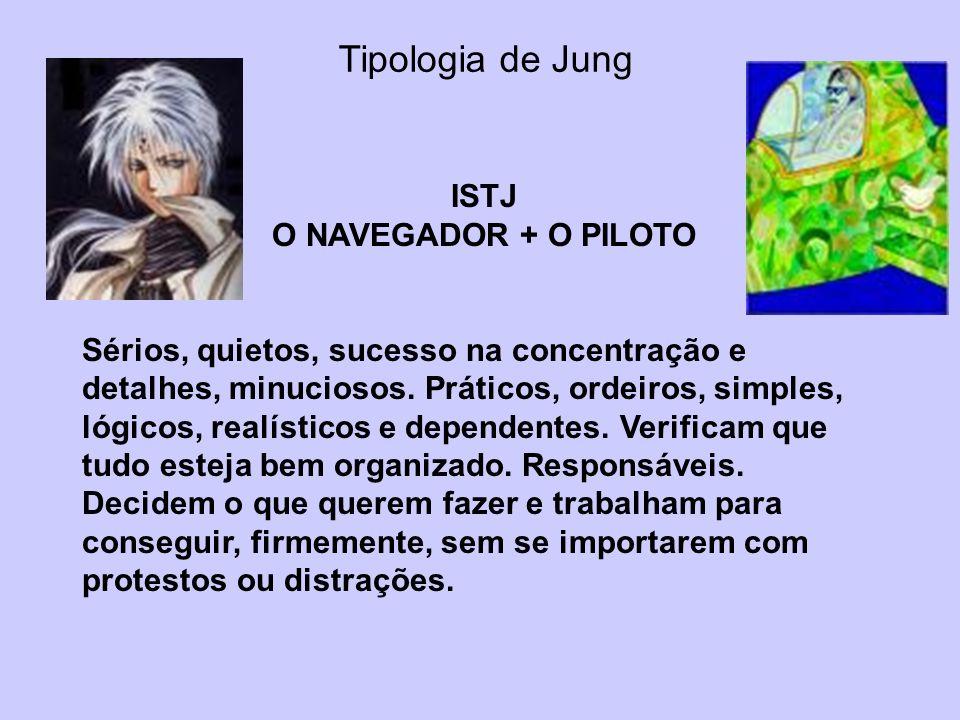 Tipologia de Jung ISTJ O NAVEGADOR + O PILOTO