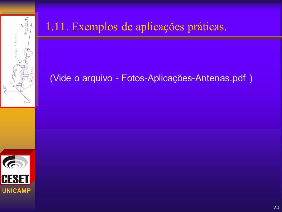 1.11. Exemplos de aplicações práticas.