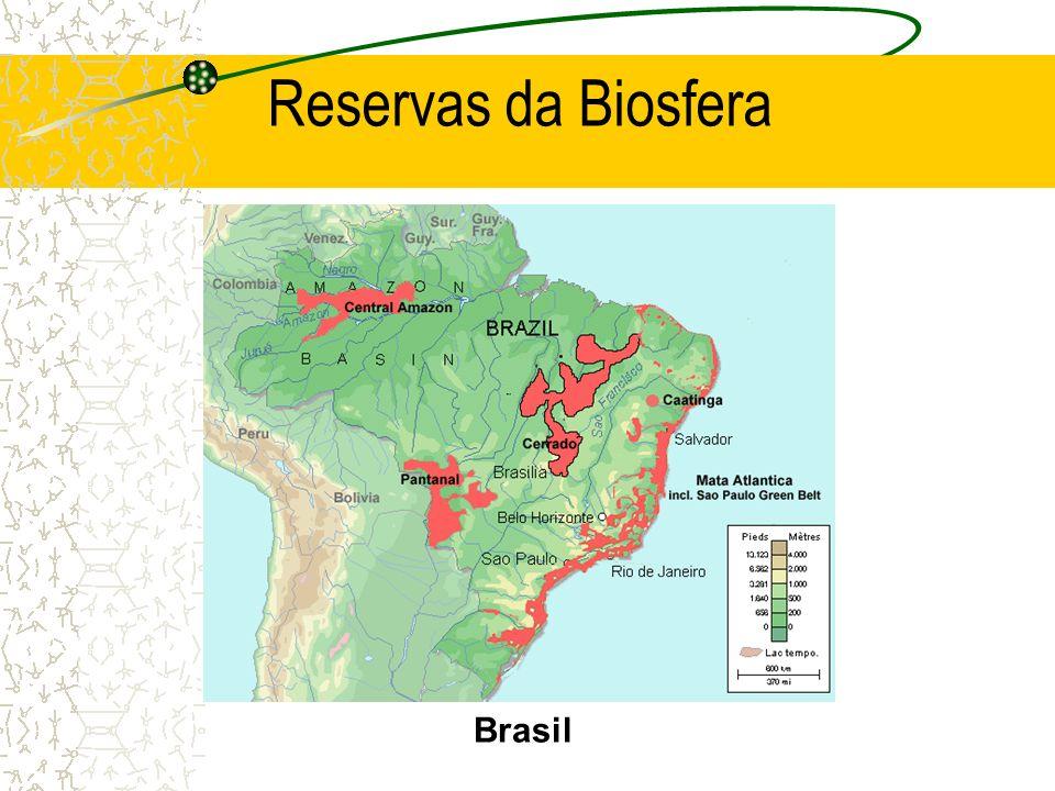 Reservas da Biosfera Brasil