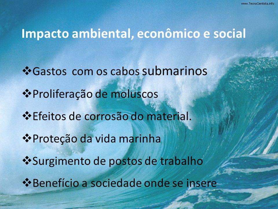 Impacto ambiental, econômico e social