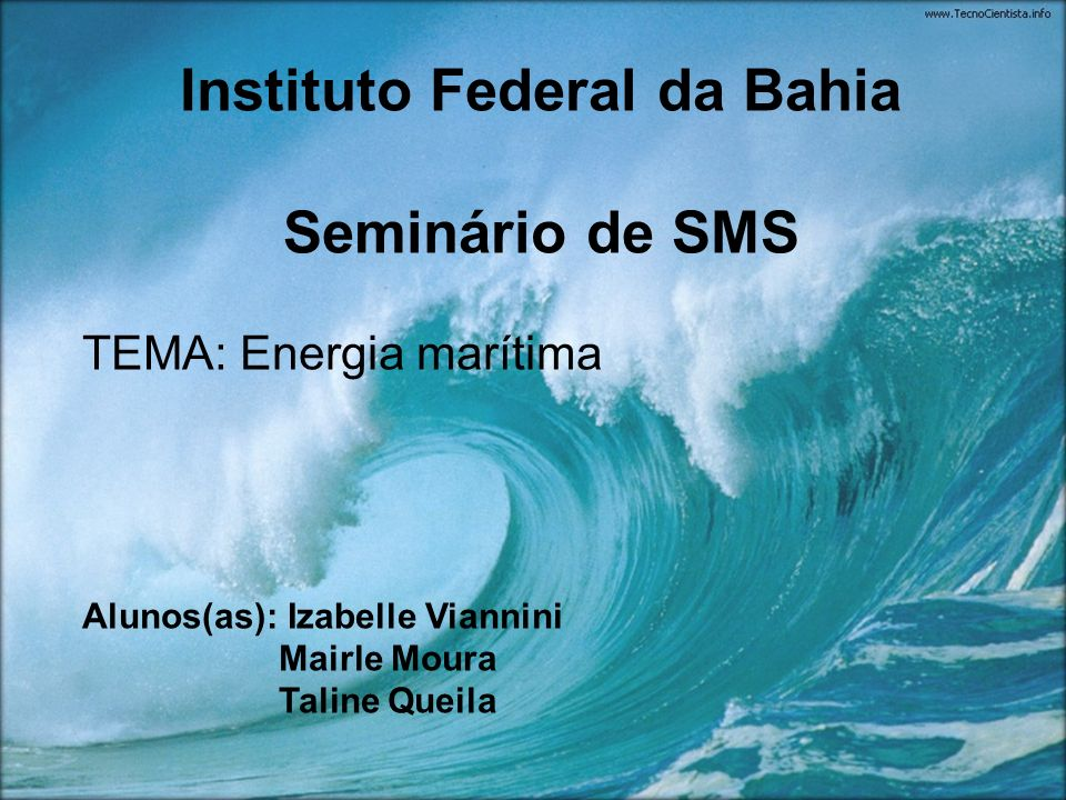 Instituto Federal da Bahia