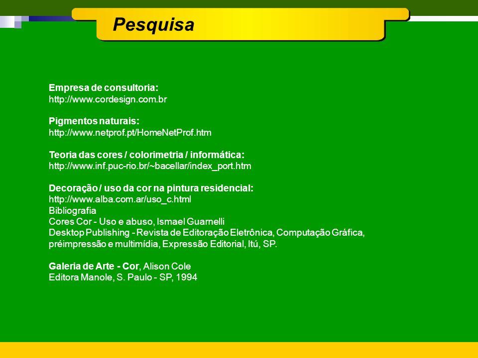 Pesquisa Empresa de consultoria: http://www.cordesign.com.br