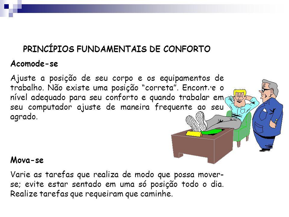 PRINCÍPIOS FUNDAMENTAIS DE CONFORTO