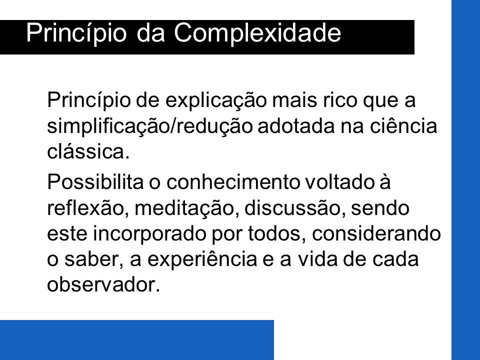 Princípio da Complexidade