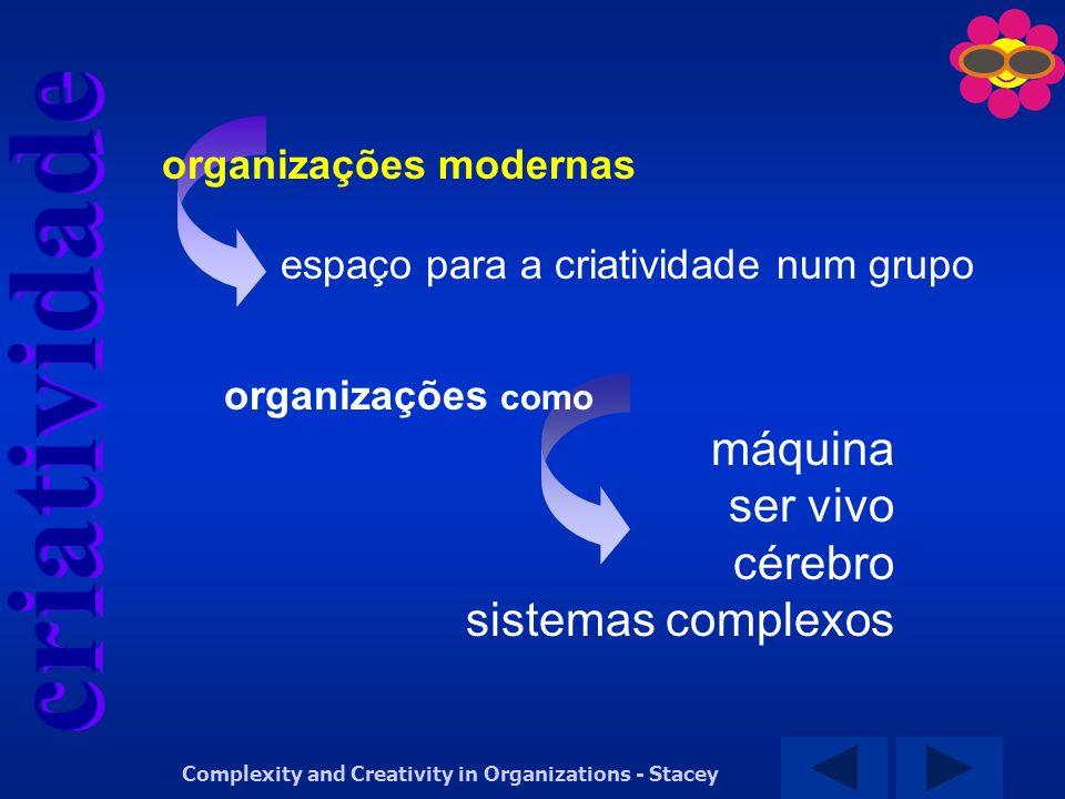 máquina ser vivo cérebro sistemas complexos organizações modernas