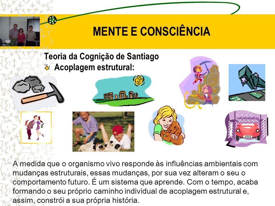 MENTE E CONSCIÊNCIA Teoria da Cognição de Santiago
