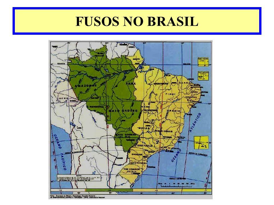 FUSOS NO BRASIL