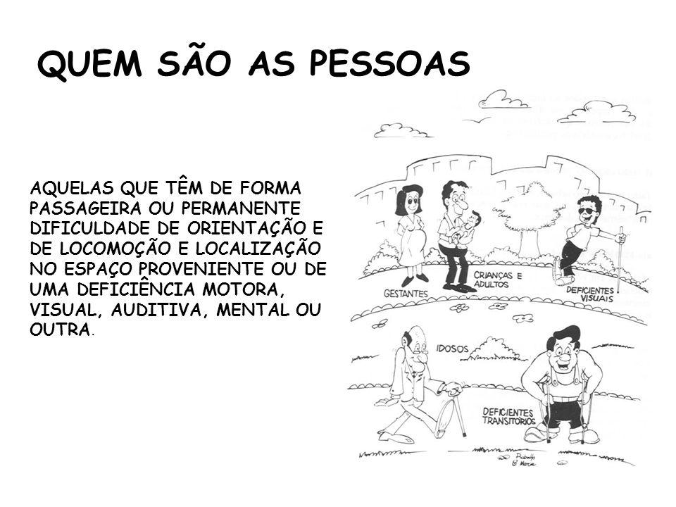 QUEM SÃO AS PESSOAS