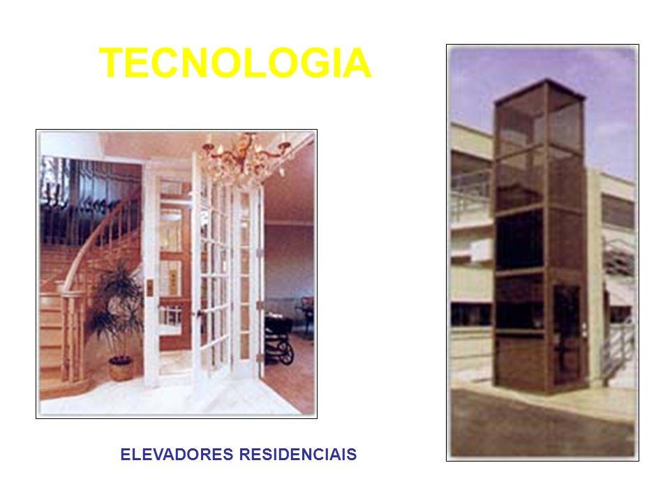 TECNOLOGIA ELEVADORES RESIDENCIAIS