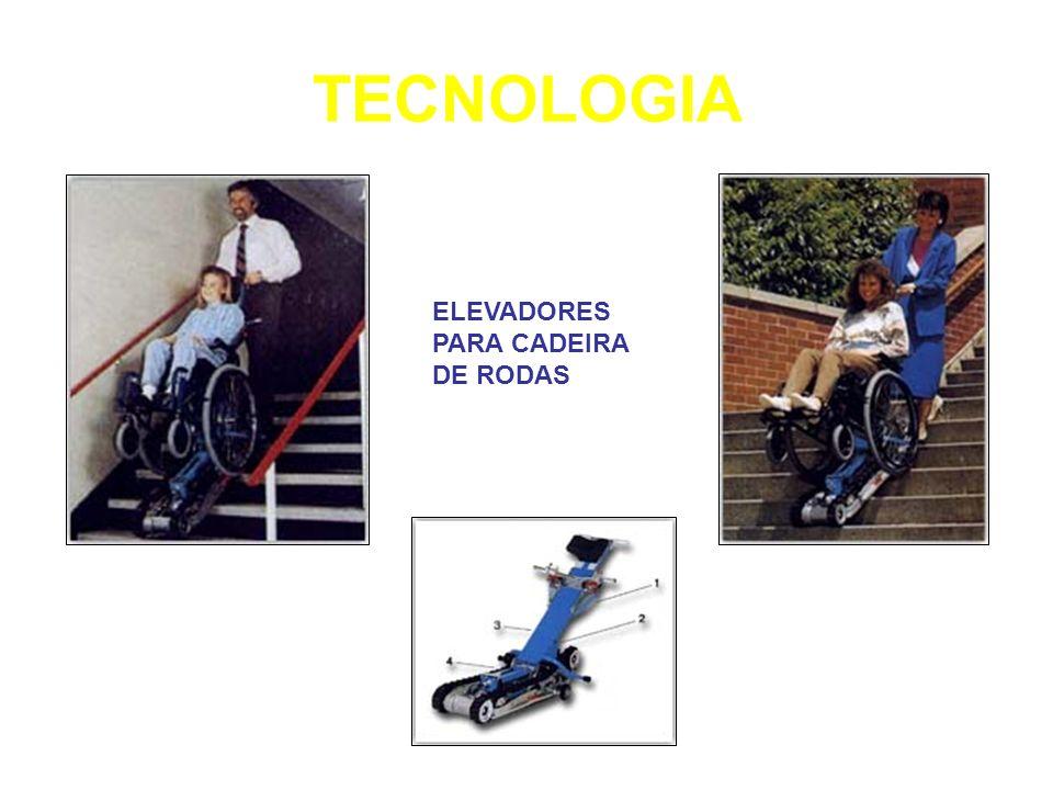 TECNOLOGIA ELEVADORES PARA CADEIRA DE RODAS