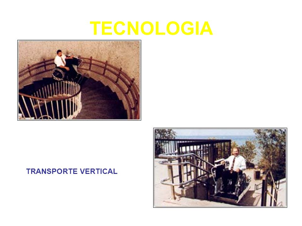 TECNOLOGIA TRANSPORTE VERTICAL