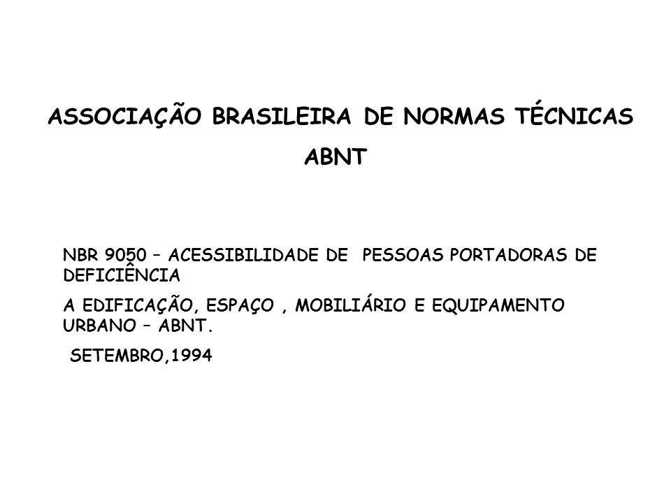 ASSOCIAÇÃO BRASILEIRA DE NORMAS TÉCNICAS