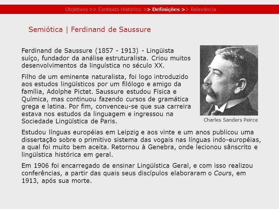 Semiótica | Ferdinand de Saussure