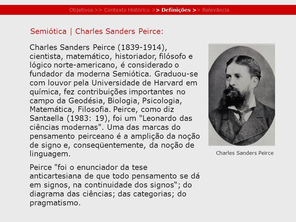 Semiótica | Charles Sanders Peirce: