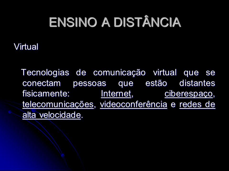 ENSINO A DISTÂNCIA Virtual