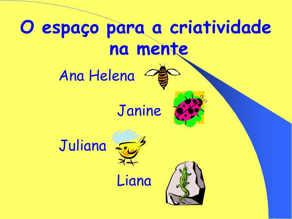 O espaço para a criatividade