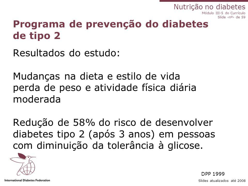 Programa de prevenção do diabetes de tipo 2