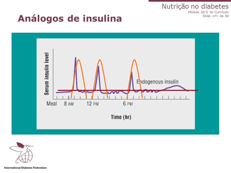 Análogos de insulina