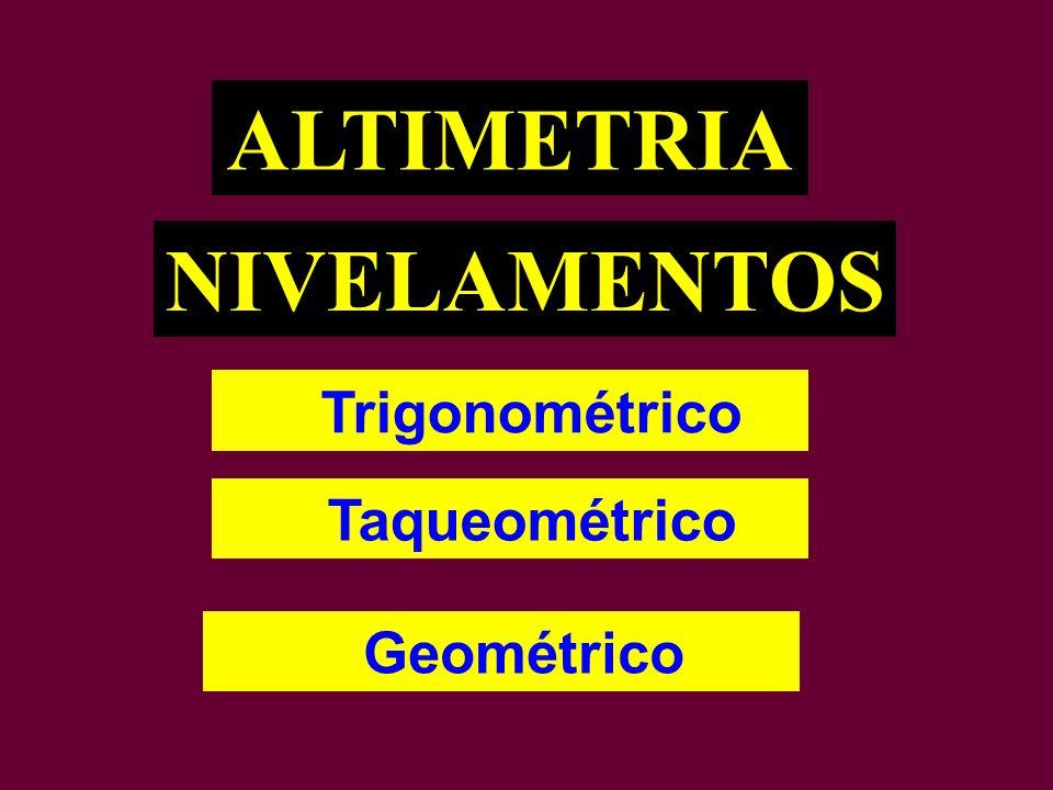 ALTIMETRIA NIVELAMENTOS