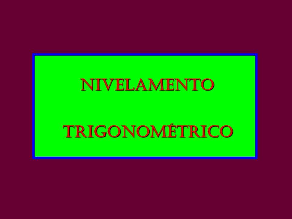 NIVELAMENTO trigonométrico