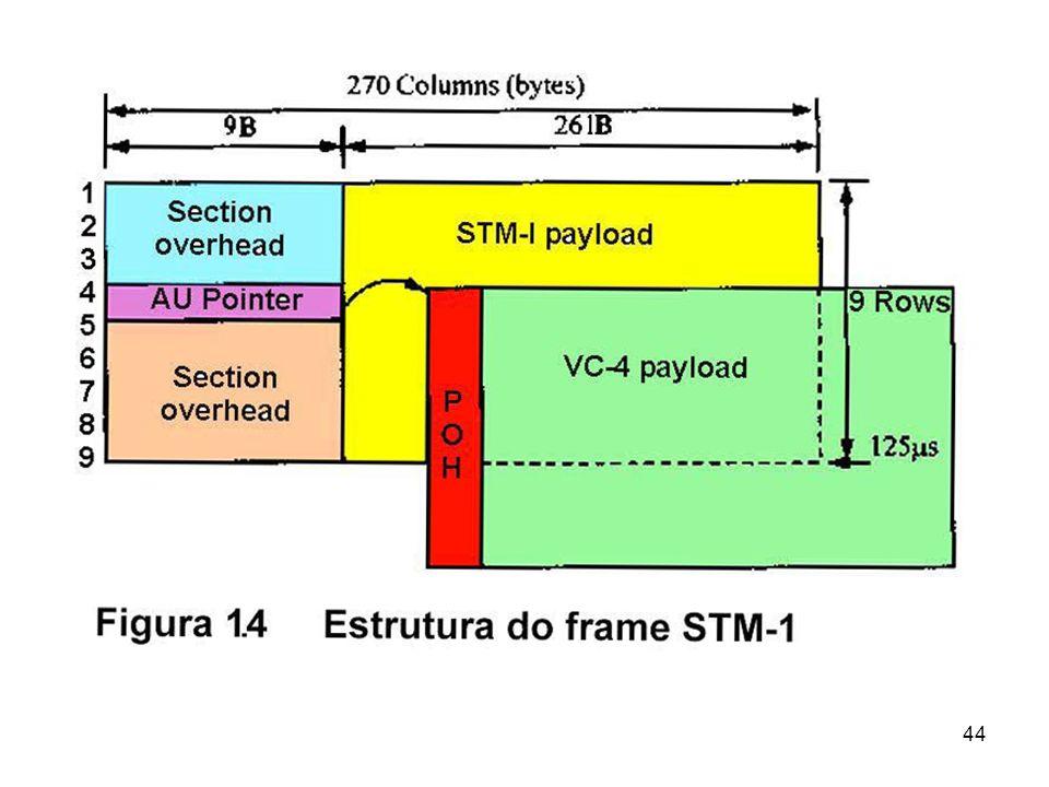 Características da SDH